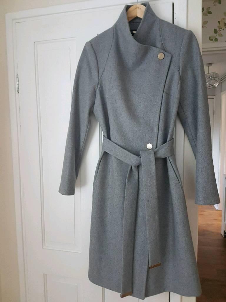 9fd9fcd37 Ladies NEW Ted Baker coat size 4 14 DEREHAM