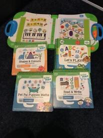 Leapfrog leapstart electronic book with activities