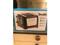Dualit Toaster and Kettle set RRP£185 looking for £120ono