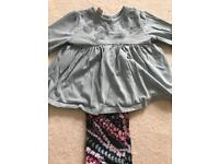 Monsoon girls outfit 6-12 months