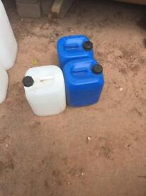 10 Litre water containers