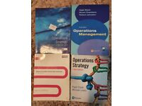 Operations Strategy and Management Books