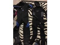 Dry suit and thermal wet suit