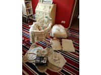 Mothercare 'please look after me' nursery set