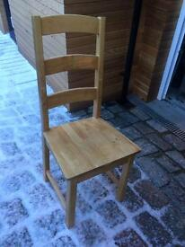 6 dining chairs for sale £70