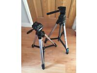 CAMERA TRIPODS - Buy one, get one FREE!