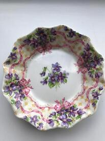 Queen Anne Sweet Violets dish
