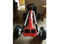 Childrens pedal go kart(new never been used)