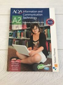 AQA A2 Information and Communication Technology - Spencer, Morgan, Haddock ISBN 978-0-7487-9908-4