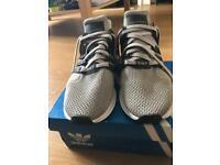 Adidas EQT Support Light Brown / Coral Black / Green. Size UK: 9,5 EU: 44