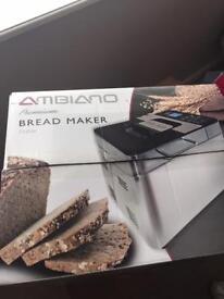 AMBIANO BREAD MAKER NEW FROM ALDI