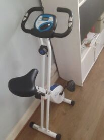 Davina Foldable Magnetic Exercise Bike (excellent conditions)
