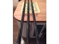 Carp rods,Fishing rods x3