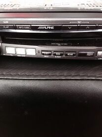 ALPINE car stereo dvd video/ cd MP3