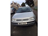vw vokswagen golf mk4 1.6lt automatic 5doors silver 2000