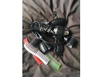 Hair dryer and accessories