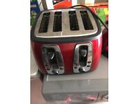 Toaster , kettle and electric bin