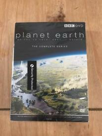 Planet earth DVD's