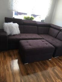Corner sofa bed in excellent condition can deliver
