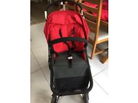 Bugaboo Cameleon pram with accessories.