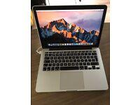 MacBook Pro retina 13 8Gb RAM 2.7GHz 256Mb SSD