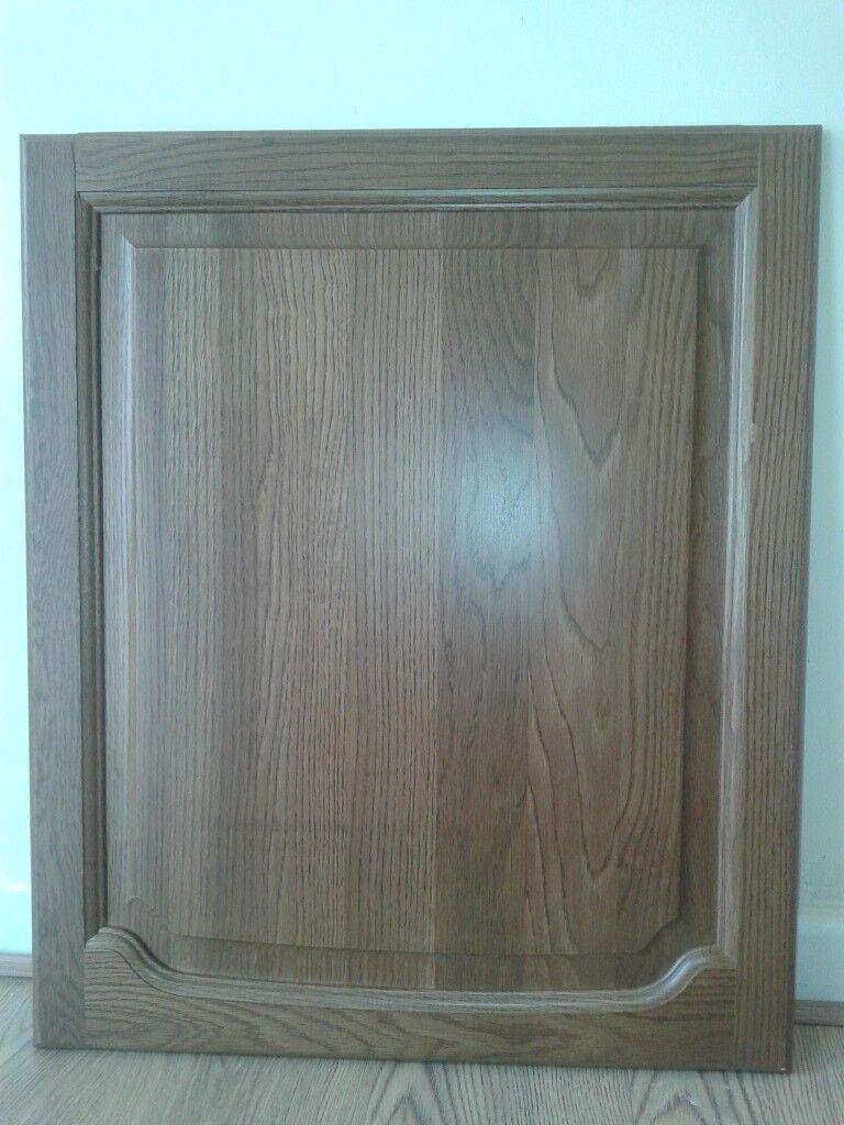 Job lot of real solid oak kitchen doors