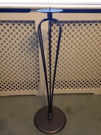 Tall Iron 80cm Candle Holder, Candle Pedestal - Quick Sale