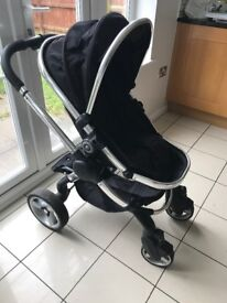 Icandy peach 2 black magic with maxi cost car seat