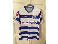 Men's QPR Genuine Football Shirt Size L