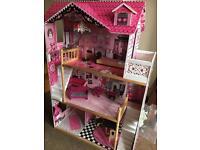 Kidkraft Amelia wooden kids dolls house