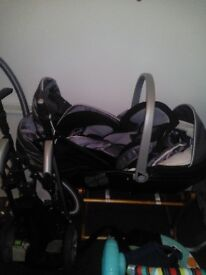 Hi, I got pushchair with Moses basket, and sitter, I will add pictures quick sale £40 for all
