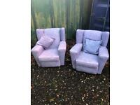 Arm chairs. Free delivery.