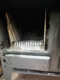 ESSE IRONHEART Wood LOG BURNER / RANGE COOKER FREESTANDING WITH PART FLUE SYSTEM