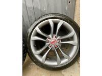 "18"" OEM Audi wheels and Pirelli PZERO tyres"