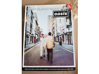 Oasis - music song book - (What's the story) morning glory?