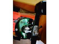 ABU 6500 ctc3 green mag elite in good condition fishing reel
