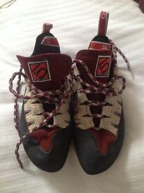 Five ten siren climbing shoes size 6