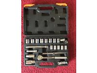 22pc Metric Socket Set