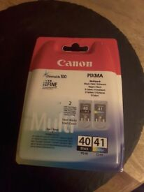 Canon printer ink multi pack colour and black