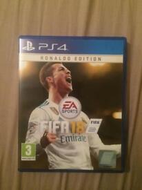 FIFA 18 PS4 NO RONALDO EDITION CODE