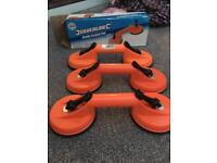 Silver line double suction pad