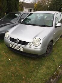 VW Lupo spares/repairs