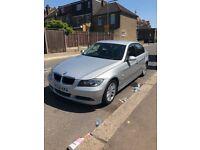 BMW 320d 2006 Manual, Diesel, Silver (new 12 Months MOT) & 6 Months Road Tax £2450