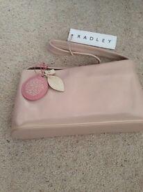 Radley Pink Leather small Shoulder Bag