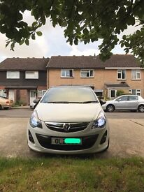 Vauxhall Corsa Limited Edition 1.2. Excellent condition 1 owner from new. HID Lights!!