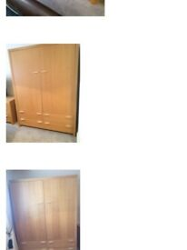 Bedroom Wardrobes FREE to collect by the 25th June.