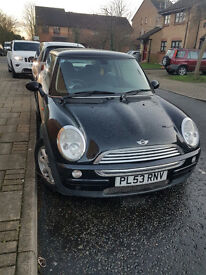 Mini Hatch Cooper 1.6 3dr 2004 only 62000 miles