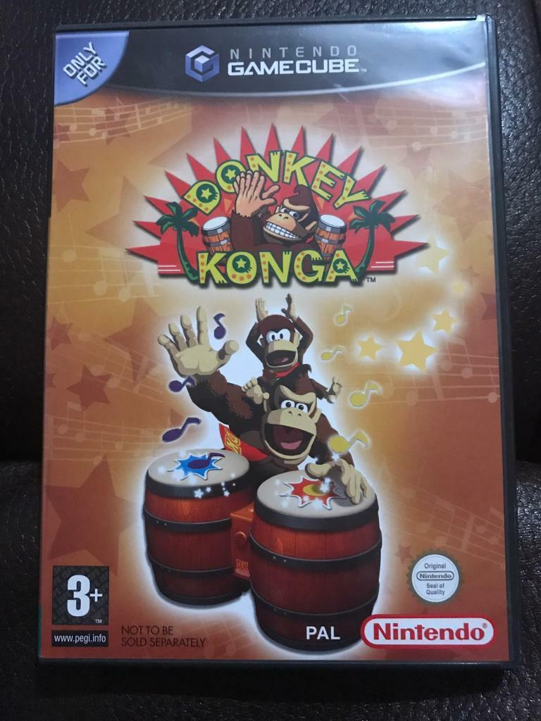 Donkey Kongain Morningside, EdinburghGumtree - Donkey Konga (ドンキーコンガ? Donkī Konga) is a GameCube rhythm video game starring the ape Donkey Kong, developed by Namco and published by Nintendo. Instead of the standard GameCube controllers, the game is intended to be played with a...