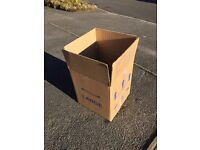25 Packing Boxes for Sale