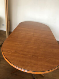 Dining table and six chairs ( Oak Veneer )